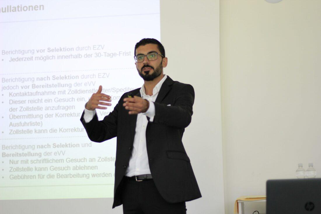 Olcay Erden Zollseminar Exportabwicklung Referent