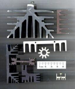 Aluminiumprofile werden in die Zolltarifnummer 7604 eingereiht