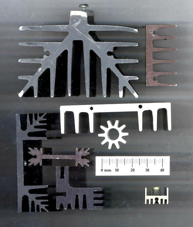 Aluminiumprofile der Zolltarifnummer 7604