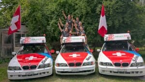 Team Rally goes Orient auf Rallyeautos